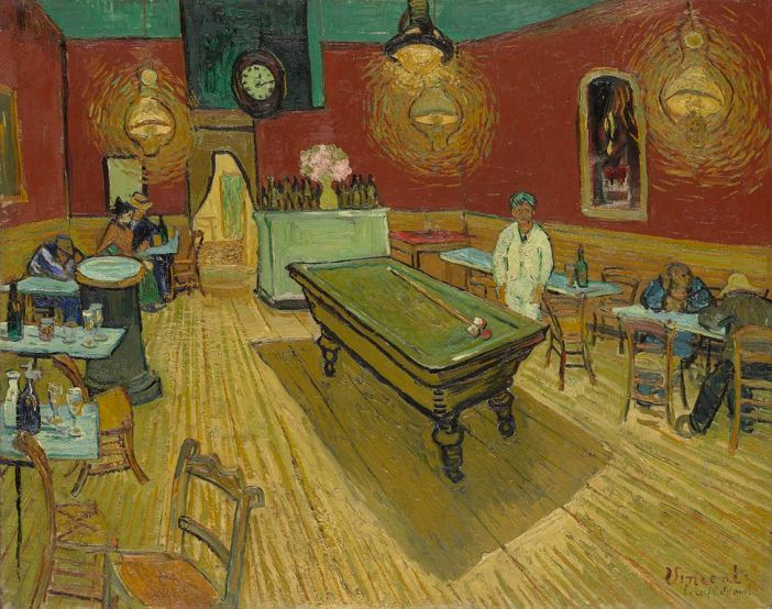 Le_café_de_nuit_(The_Night_Café)_Van Gogh Yale 1888