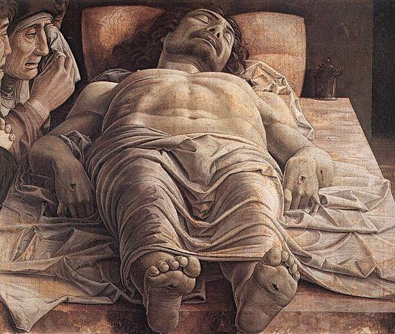 Mantegna_Andrea_Dead_Christ 1435-1506